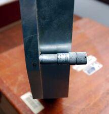 """Quartz 10"""" Optical Flat in Lufkin Carrier (Inv.5694)"""