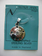 Sterling Silver Sand Dollar Pendant New