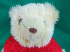 2001 GIORGIO BEVERLY HILLS SWEATER RED SANTA HAT PLUSH STUFFED ANIMAL BEAR