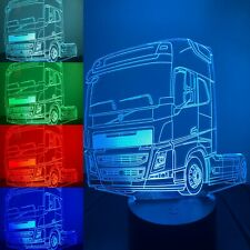 Volvo FH Truck 3d led lamp,Can be Personalized,Colors changing,Remote control,