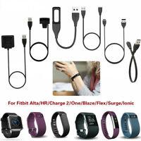 Câble de charge Chargeur Recharge USB Pour FitBit Charge 2 HR Alta Blaze Ionic