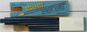 12 Johann Faber Accurate drawing pencils 308 3H leads, in original box!