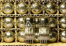 Rarest Tested Pair 6N2P-ER BIG Triple Mica Military Tubes ~ ECC83 12AX7 70`s