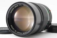 [NEAR MINT] Rare Canon New FD 135mm f/2 MF Lens NFD From Japan #00123