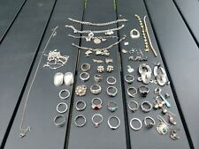 209 Grams Of Tested Sterling Silver Jewelry For Wear Or Resale