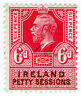 (I.B) George V Revenue : Ireland Petty Sessions 6d