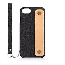 Simplism [NUNO] Fabric Case Rear Band for iPhone7/6s/6 TR-NNBIP164-BKDM