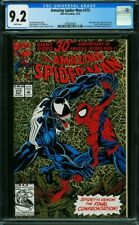 Amazing Spider-Man #375 CGC 9.2 -30th Anniversary Special Gold Holofoil Cover