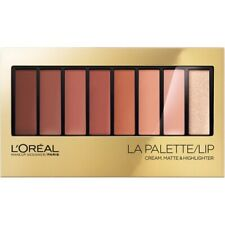 L'Oreal Paris La Palette Lip Cream, Matte & Highlighter - Nude 03