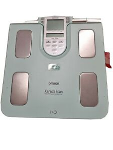 OMRON BF511 Körperanalyse Waage Body Composition Monitor &Gebrauchsanweisung BMI