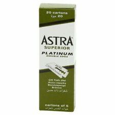 Astra Superior Platinum Double Edge Blades - 100 Count