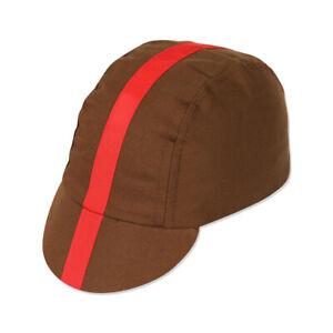 PACE 1401034 CAP CLASSIC CHOC/RED XL