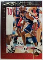 1994 94 Upper Deck Basketball Heroes Michael Jordan #42, Gold Signature, Sharp!