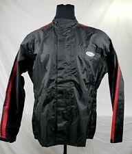 Waterproof Rain Suit PVC Jacket w/ NV Motorcycle Gear Orange Wears (L)(MSRP $75)