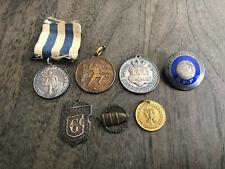 1904 Sweden Gefle Sport Medal + Other Medals