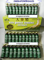 RED PANAX GINSENG EXTRACT 4 BOX 120 BOTTLES 12 YEAR ROOT EXTRA STRENGTH 6000MG