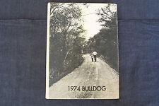 1974 yearbook - Blanche Thomas Junior - Senior High School, Sentinel, Oklahoma