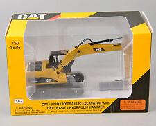 Caterpillar 1:50 Diecast 323D L Hydraulic Excavator 55282 Vehicles Model