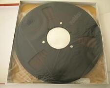 1100 M (3600 FT) NEW SOUND RECORDING TAPE  ALUMINUM COIL METAL REEL REVOX BLACK