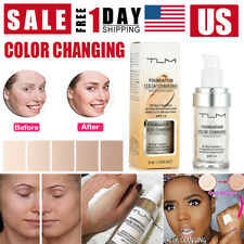 TLM Pro Classic Colour Changing Foundation Magic Flawless Concealer Makeup 30ml