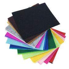 42PCS Assorted Color Wool Felt Fabric Sheets Patchwork Sewing DIY Craft 20*30cm