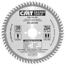 CMT 292.190.64M Lama Circolare per Taglio di Precisione per Macchine Portatili,