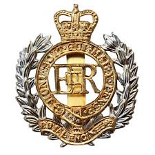 ROYAL ENGINEERS CRE HEAVY METAL CAP BADGE BRITISH ARMY CORPS ROYAL ENGINEERS