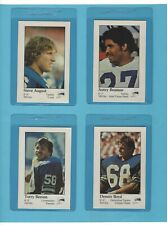 1979 Seattle Seahawks Police Set of 16 Football Cards