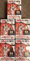 Panini 2020-21 NBA Hoops Basketball Lot of 5 Blaster Boxes..New..Ships Fast🔥🔥