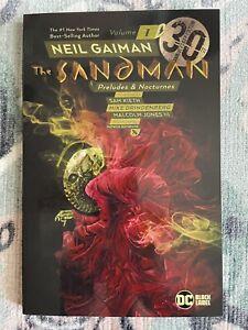Sandman Vol 1 Preludes & Nocturnes. Neil Gaiman. DC / Black Label