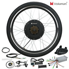 "26"" Rear Wheel 36V 500W Electric Bicycle Ebike Conversion Kit Hub Motor"