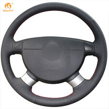 Black Leather Wheel Cover for Chevrolet Lova Aveo Buick Daewoo Excelle Gentra