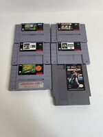SNES Lot 6 Games  - Super Nintendo & NES  - Free Shipping