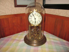 VINTAGE WORKING FORESTVILLE GERMANY ANNIVERSARY 400 DAY CLOCK