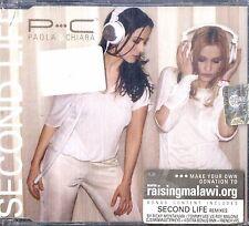 PAOLA & CHIARA Second Life CD Single NEW Sigillato