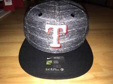 8950194d3cc22 Nike True MLB Texas Rangers Unisex OS Black Heather Cap BNWTS
