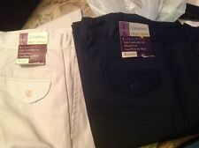 22 pair HUGE LOT of womens uniform pants, tan and khaki, sizes
