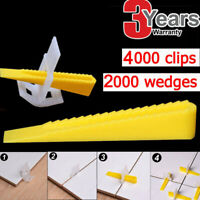 Tile Leveling System Locator Plier/Clips + Wedges Floor Wall Plastic Spacers Kit