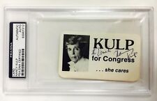 NANCY KULP Signed Autograph The Beverly Hillbillies Encapsulated PSA/DNA