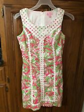 Lilly Pulitzer Dress Size 2 Pink & Green Womens