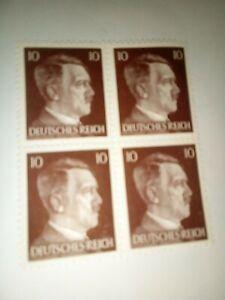 WW11 Adolf Hitler's Stamps, 1942-1945