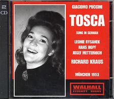 Puccini: Tosca  Rysanek Hopf Metternich Richard Kraus   München 1953   2 CD
