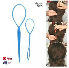 Simple Magic Hair Twist Styling Clip Stick Bun Hairstyle Maker