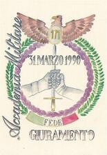 A9442) MODENA ACCADEMIA MILITARE, GIURAMENTO 171 CORSO 31 MARZO 1990