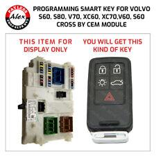 VOLVO S60 SMART KEY PROGRAMMING SERVICE