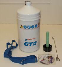 Air Liquide GT2 2 Litre Liquid Nitrogen Vessel & Accessories (New Boxed)