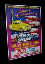 Original  Best West Coast Rod & Custom 1996 40th ANNUAL PORTLAND ROADSTER SHOW