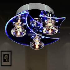 New Crystal LED 7W Ceiling Light Pendant Flush Lamp Fixture Lighting Chandelier