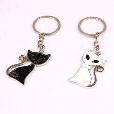 Couple Alloy Cat Shape Handbag Charm Key Holder Key Chain Key Ring