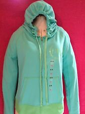 NWT VICTORIA'S SECRET PINK  COLLECTION GREEN HOODIE